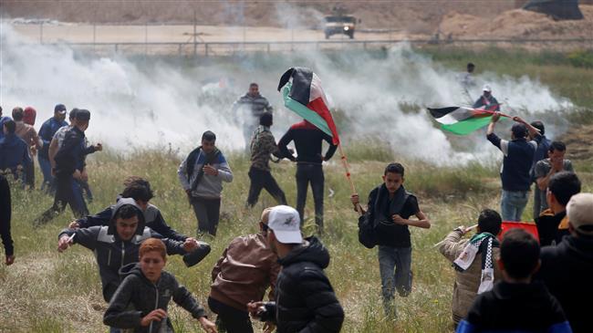 Photo of Iran FM slams 'Zionist tyrants' for murdering Gaza protesters
