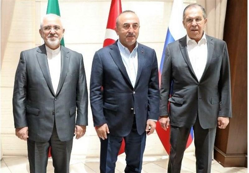 Photo of Iranian, Russian, Turkish FMs to Meet in Ankara Wednesday