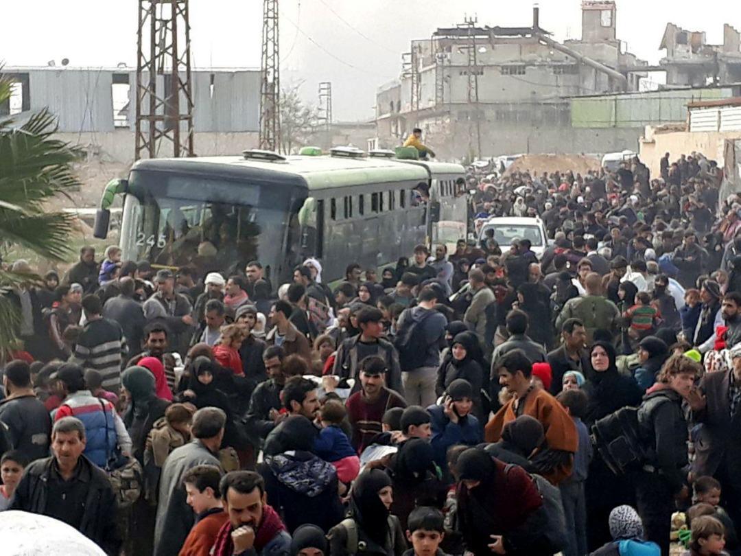 Photo of Deal to Evacuate Hundreds of Civilians from Syria's Douma
