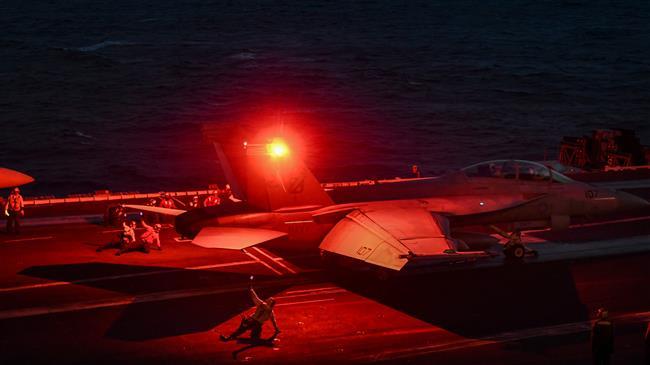 Photo of Satanic US regime warplanes hit Syrian army bases in Dayr al-Zawr province