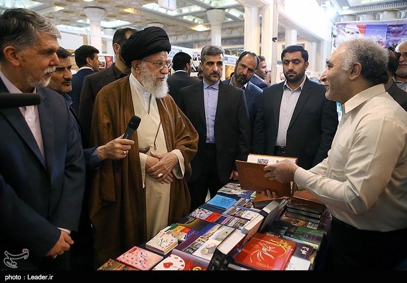 Photo of PHOTOS: Leader of Islamic Ummah and Oppressed Imam Ali Khamenei Visits Int'l Book Fair in Tehran