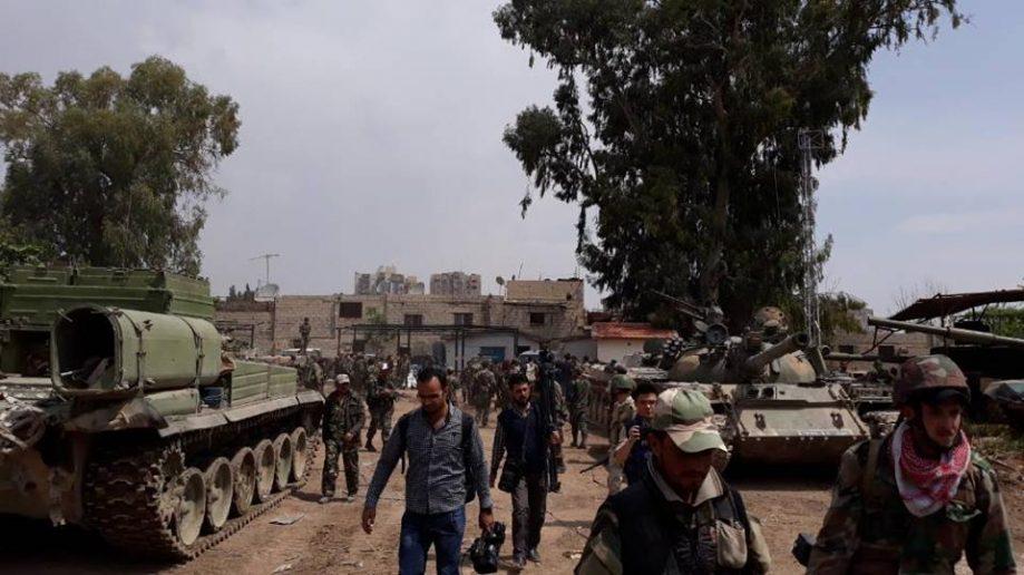 Photo of Syrian army, Palestinian forces score major advance in Hajar Al-Aswad