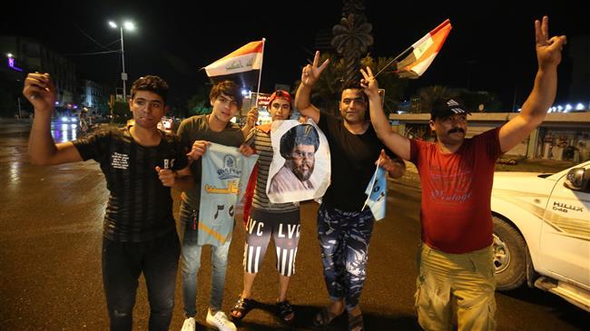 Photo of Moqtada al-Sadr alliance takes lead in Iraqi elections