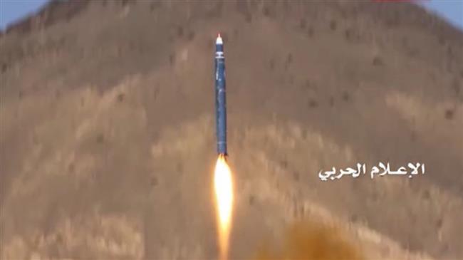Photo of Yemeni ballistic missile targets Saudi Aramco oil facility in Jizan