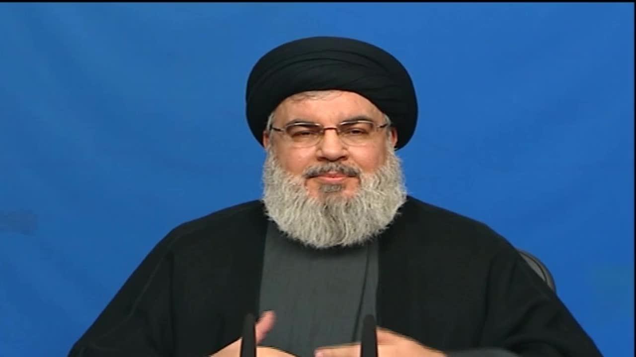 Photo of Sayyed Nasrallah Delivers a Speech at Al-Quds Ceremony in Maroun Al-Ras