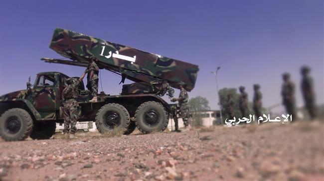 Photo of Yemeni forces fire ballistic missile at base run by Saudi mercenaries: Report