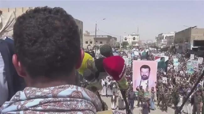 Photo of Thousands take to streets in Sa'ada, censure bloody Saudi-led war on Yemen