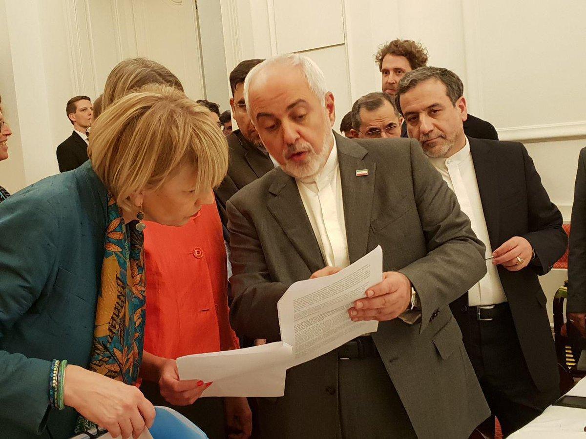 Photo of Zarif underlines Vienna meeting achievements