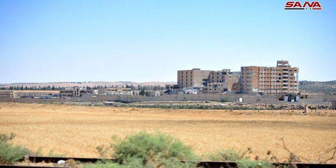Photo of Syrian army liberates Gharaz area in Daraa