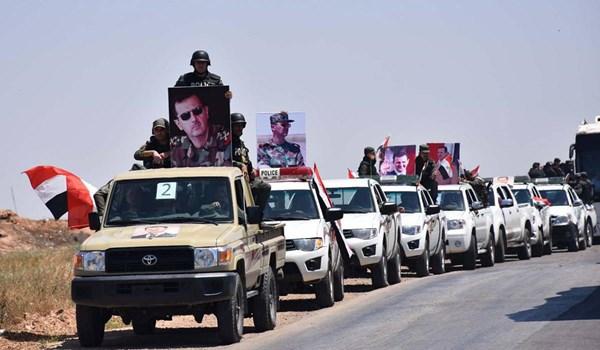 Photo of Syrian Army Sends Long Military Column to Deir Ezzur Desert