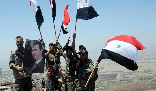 Photo of Syrian Army Drives Wedge along Terrorist-Held Regions in Badiyeh of Sweida