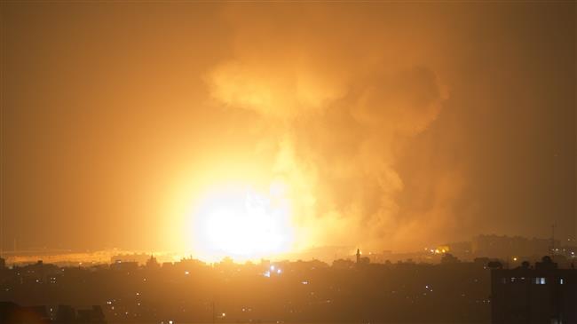 Photo of Pictures of zionist regime's brutal assault in Gaza