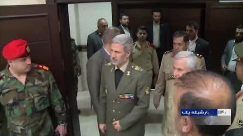 Photo of Iran's defense minister pledges to help rebuild Syria