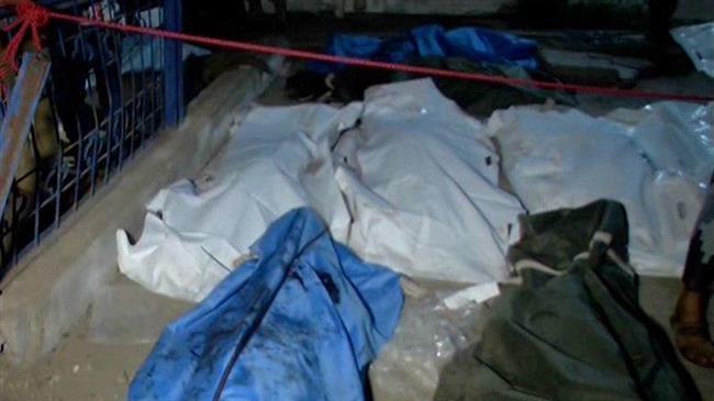 Photo of At least 55 Yemenis killed in Saudi strikes on hospital, fishing harbor in Hudaydah