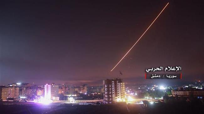 Photo of Syria air defenses destroy 'hostile target' near Damascus