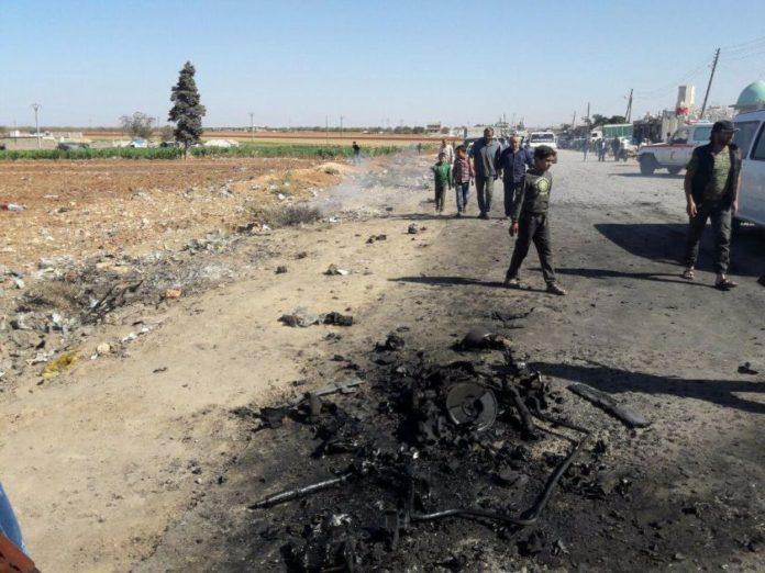 Photo of Car Bomb in Northern Syria Kills Three, Injures Dozens