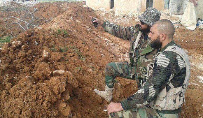 Photo of Syrian Army attacks terrorist HQ in northwestern Aleppo